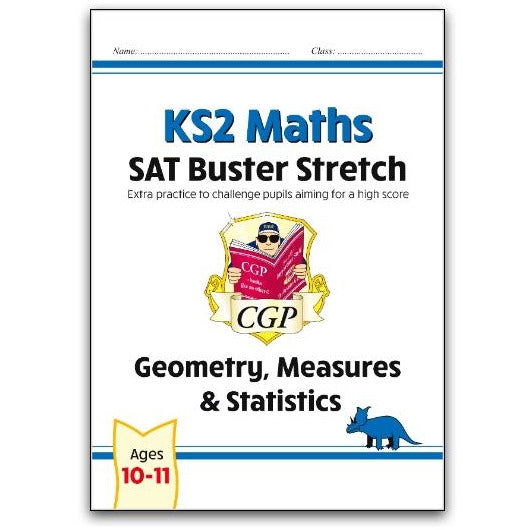 New KS2 Maths SAT Buster Stretch: Geometry, Measures & Statistics (for the 2021 tests)