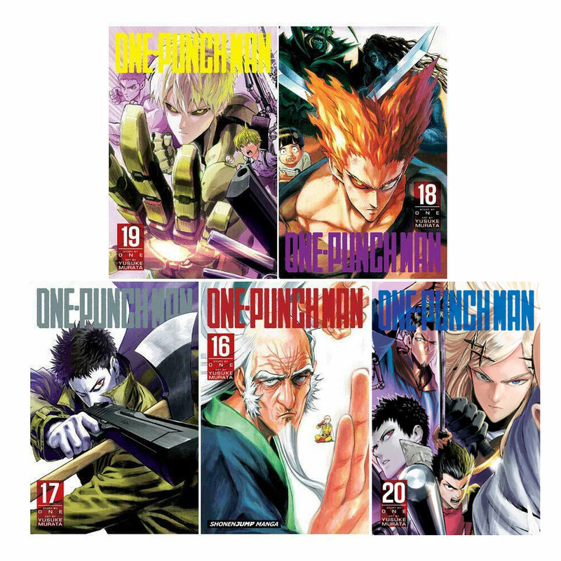 One-punch Man Volume 16-20 Collection 5 Books Set - Series 4
