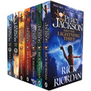 Percy Jackson Collection - 7 Books Set By Rick Riordan