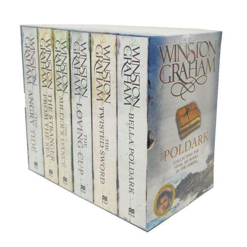 Poldark Books By Winston Graham Poldark Series 6 Books Collection Set 7-12