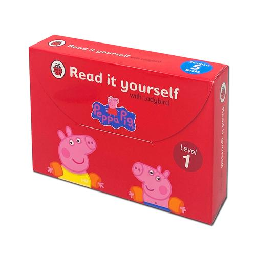 Read It Yourself with Ladybird Peppa Pig 5 Books Children Collection Set for Level 1