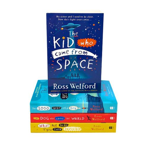 Ross Welford Collection 4 Books Set (The 1000 Year Old Boy, What Not To Do If You Turn Invisible, Tim..