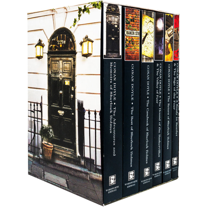 The Complete Illustrated Sherlock Holmes 6 Books Collection Box Set