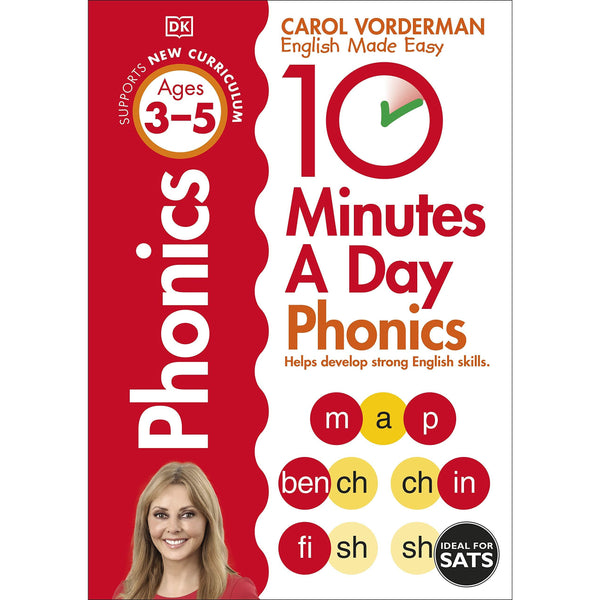 10 Minutes A Day Phonics, Ages 3-5 (Preschool)