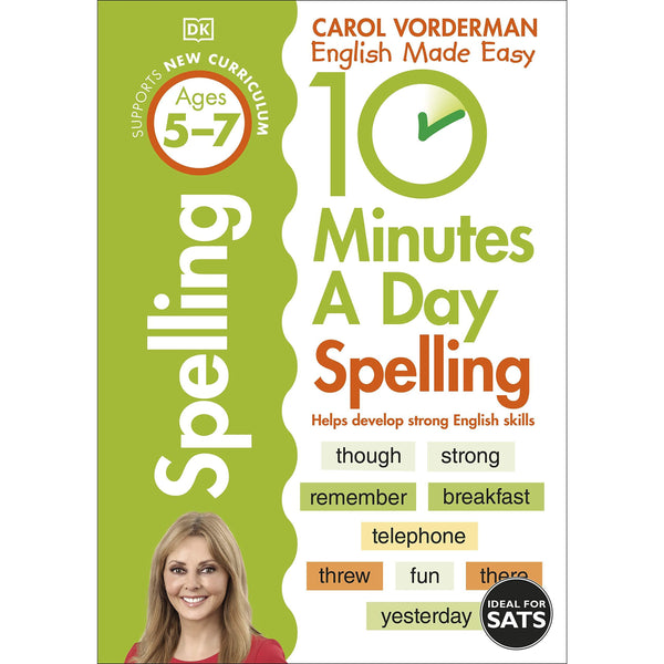 10 Minutes A Day Spelling, Ages 5-7 (Key Stage 1)
