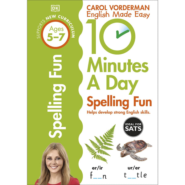 10 Minutes A Day Spelling Fun, Ages 5-7 (Key Stage 1)