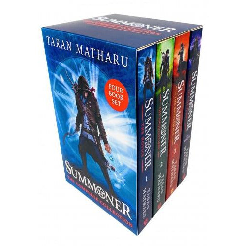The Summoner 4 Books Box Set Collection By Taran Matharu - The Novice The Inquisitionthe Battlemag.. Hodder