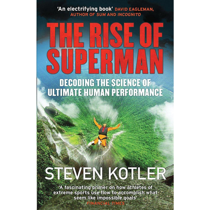Endure By Alex Hutchinson & The Rise of Superman By Steven Kotler 2 Books Collection Set