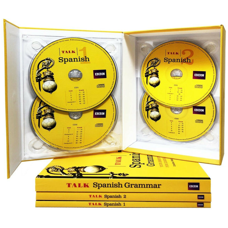 Talk Spanish Complete 2 Book4 Cd Pack 1 Grammar Guide