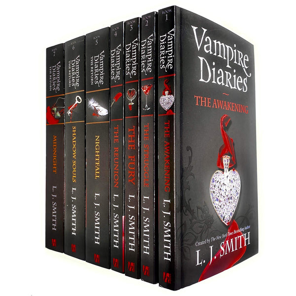 Vampire Diaries the Awakening & the Return 7 Books Collection Set by L. J. Smith (Book 1 to 7) - books 4 people