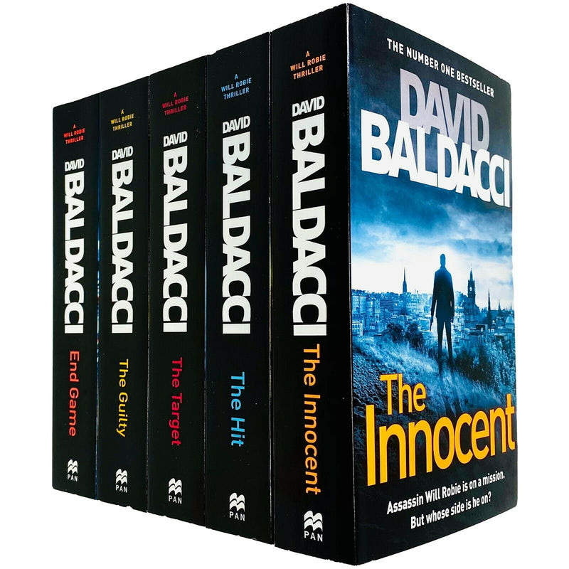 Will Robie Series Complete 5 Books Collection Set by David Baldacci