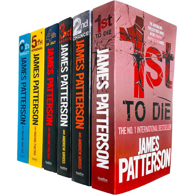 Womens Murder Club 6 Books Collection Set by James Patterson (Books 1 - 6) - books 4 people