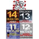 James Patterson Womens Murder Club Series 5 Books Collection Set 11-15