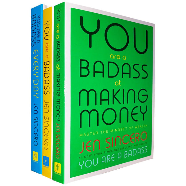 You Are A Badass 3 Books Collection Set by Jen Sincero Every Day, Making Money