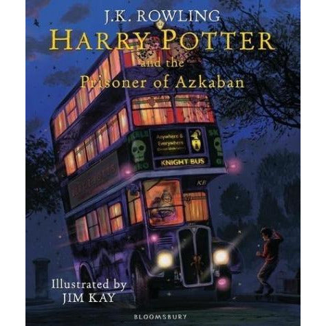 Harry Potter And The Prisoner Of Azkaban Illustrated Edition - books 4 people