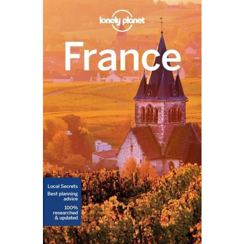 Lonely Planet France Travel Guide - books 4 people