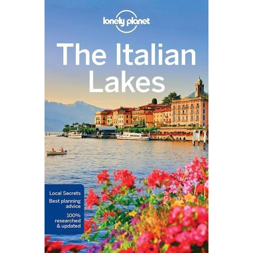 Lonely Planet The Italian Lakes Travel Guide - books 4 people