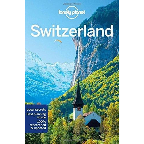 Lonely Planet Switzerland - Travel Guide - books 4 people