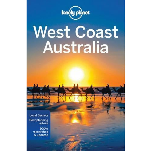 Lonely Planet West Coast Australia - Travel Guide - books 4 people