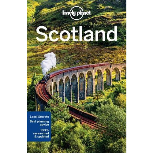 Lonely Planet Scotland Travel Guide - books 4 people