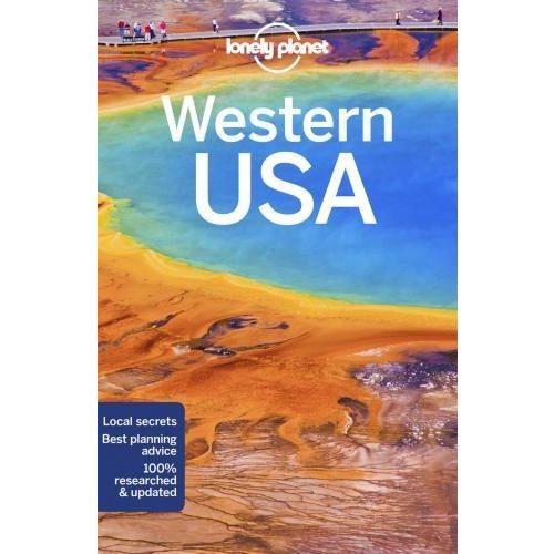 Lonely Planet Western Usa Travel Guide - books 4 people