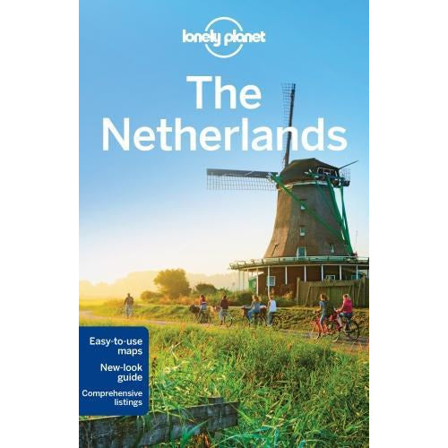 Lonely Planet The Netherlands Travel Guide - books 4 people