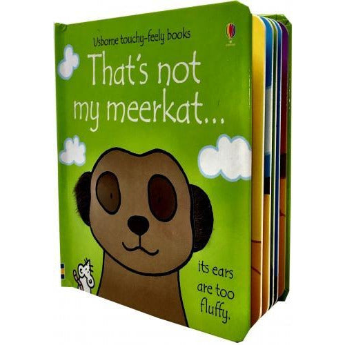 Thats Not My Meerkat - Touchy-feely Board Books - books 4 people