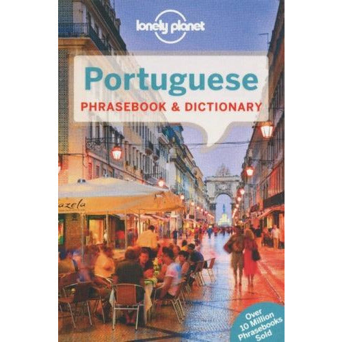 Lonely Planet Portuguese Phrasebook And Dictionary - books 4 people
