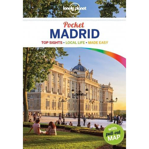 Lonely Planet Pocket Madrid By Travel Guide - books 4 people