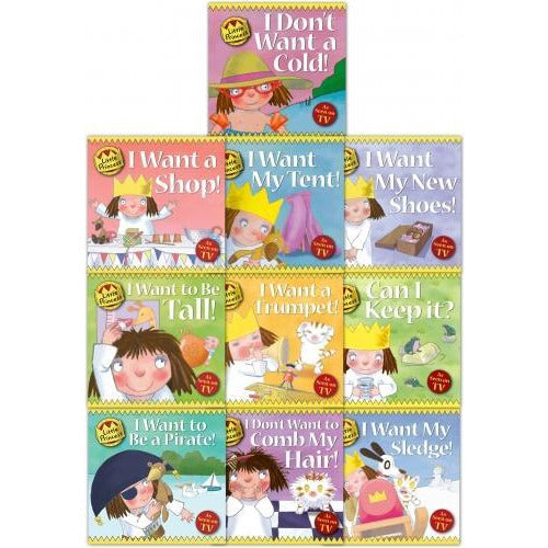 Little Princess Story Collection Tony Ross 10 Books Set - books 4 people