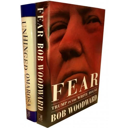 Trump In The White House 2 Books Collection Set Fear Trump In The White House Unhinged An Insiders.. - books 4 people