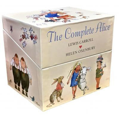 The Complete Alice Adventures In Wonderland - 22 Books Collection Box Set By Lewis Carroll And Hele.. - books 4 people