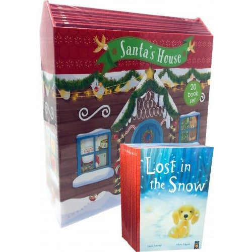 Santas House 20 Books Collection Set - One Christmas Night Dear Santa Snow Angel One Magical Chris.. - books 4 people