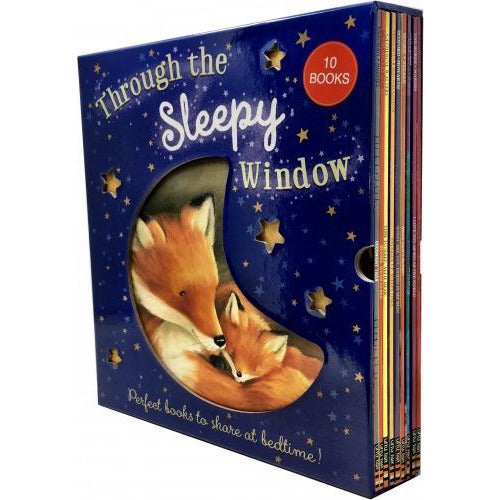 Through The Sleepy Window 10 Books Collection Box Set - books 4 people