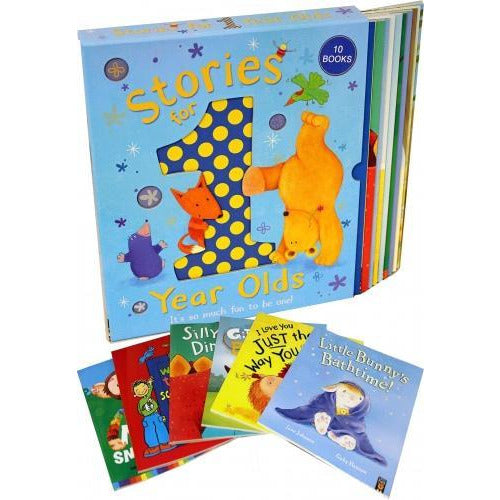 Stories For 1 Year Olds 10 Books Collection Box Set A Friend Like You The Busy Busy Day Its My Tur.. - books 4 people