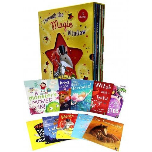 Through The Magic Window Collection 10 Books Box Set - books 4 people