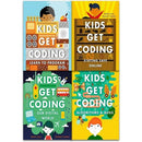 Kids Get Coding Collection 4 Books Set Algorithms And Bugs Learn To Program Our Digital World Stay.. - books 4 people