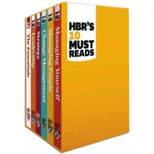 Hbrs 10 Must Reads Collection 6 Books Box Set - books 4 people