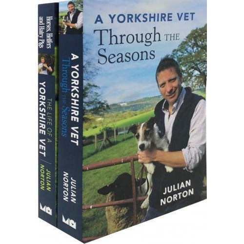 Julian Norton A Yorkshire Vet 2 Book Set - books 4 people
