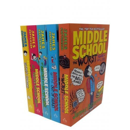 Middle School Collection 5 Book Collection Set - books 4 people