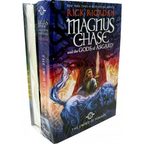 Magnus Chase And The Gods Of Asgard Series Collection 2 Books Set By Rick Riordan - Deluxe Edition.. - books 4 people