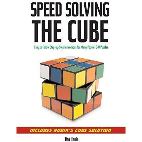Speed Solving The Cube - books 4 people