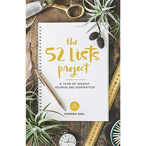 The 52 Lists Projects A Year Of Weekly Journaling Inspiration - books 4 people