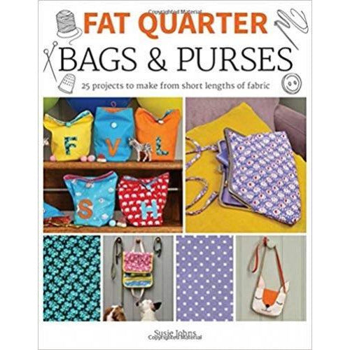 Fat Quarter Bags And Purses - books 4 people