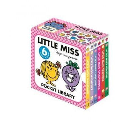 Little Miss Pocket Library - books 4 people