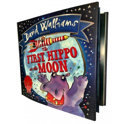 David Walliams Collection The First Hippo On The Moon - books 4 people
