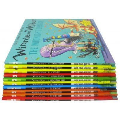 Valerie Thomas And Korky Pauls The Winnie And Wilbur Collection Set Of 10 Books With Cds - books 4 people