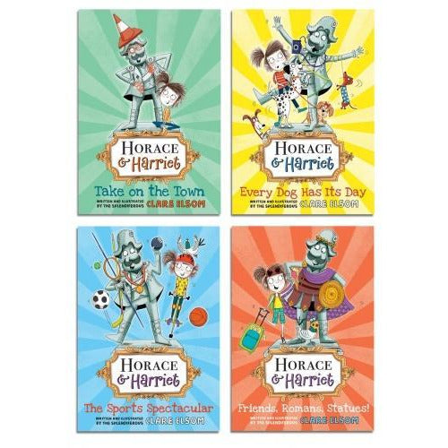 Horace And Harriet Series 4 Books Collection Set - books 4 people