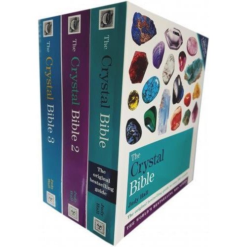 Judy Hall The Crystal Bible Volume 1-3 Books Set Collection Godsfield Bibles - books 4 people