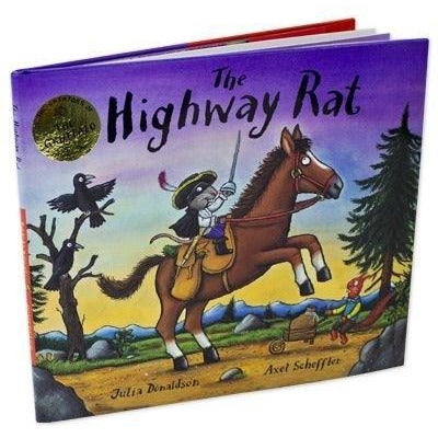The Highway Rat By Julia Donaldson - books 4 people